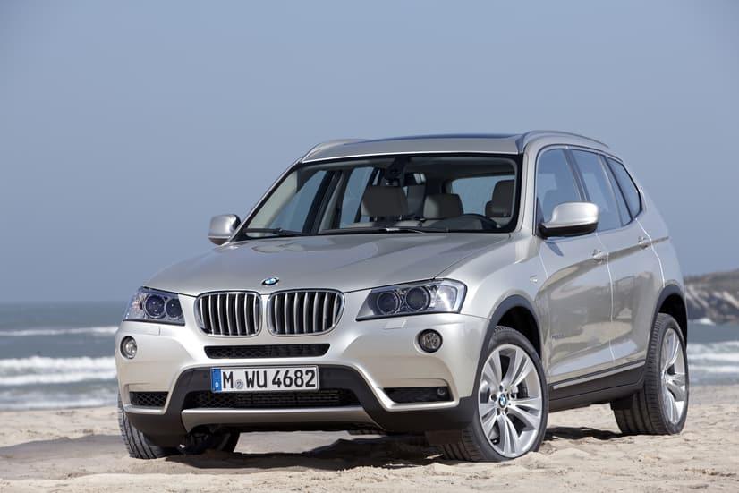 The BMW X3 08 2011